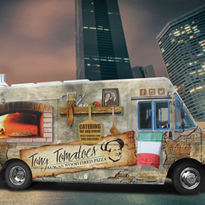 Tuscan Wood Fired Pizza Catering