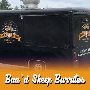 Baa'd Sheep Burritos